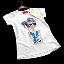 Dětské tričko , tri-0094-01, funky diva,110 / 116