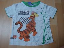 Tričko disney s tygříkem - vel. 2,5 roku, disney,92
