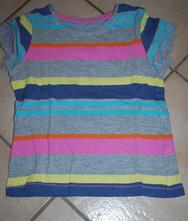 Pruhované tričko, proužkové, next,98