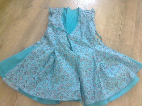 Oboustranné zavinovací šaty, mexx,92