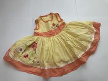 Šaty letní - v.0/3 m., george,62