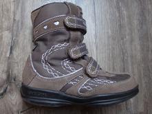 Kvalitní zimní boty- sněhule geox vel.34, geox,34