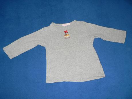 Tričko s dlouhým rukávem pro holčičku, vel. 94 cm, 92