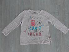Reserved - triko s flitrovým nápisem, vel. 110, reserved,110
