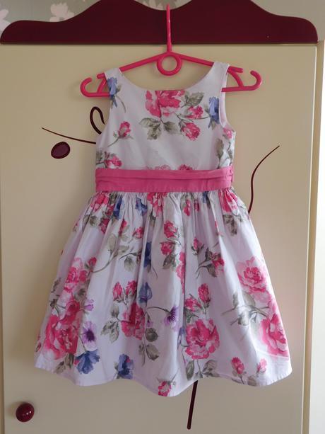 Květované šaty, next,98