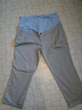 Těhotenské capri kalhoty, 46