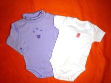Krásné fialové vyšívané body + bílé body, early days,62