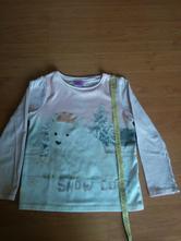 Tričko s dlouhým  rukávem 6-7 let, f&f,122