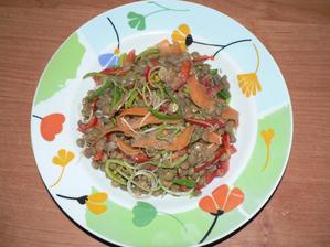 VEČEŘE: čočkový salát