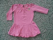 Pruhované šaty s motýlkem, marks & spencer,92