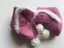 Dívčí zimní boty capáčky č.284, <17