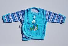 B105chlapecké zavinovací tričko s dlouhým rukávem, 68