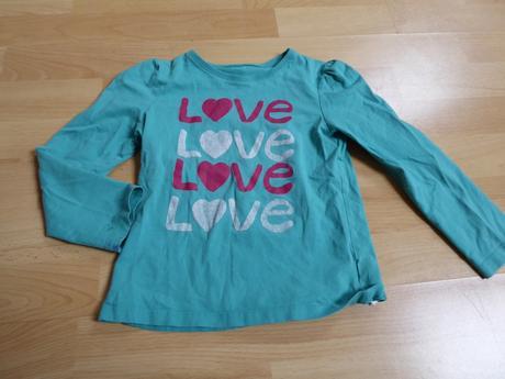 Tričko s nápisem love, mothercare,116