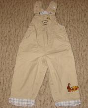 Kalhoty s medvídkem pů, h&m,86