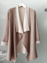 Béžový kardigan kabát sako pončo reserved vel.s 36, reserved,s