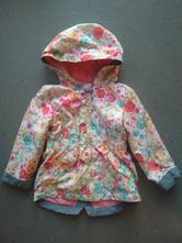 Květovaná bunda s bavlněnou podšívkou, f&f,80