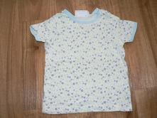 Tričko modré kytičky, impidimpi,98