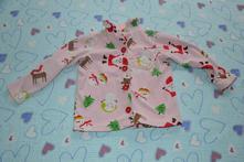Fleesová mikina, kabátek, zimní, vánoční motiv, carter's,104