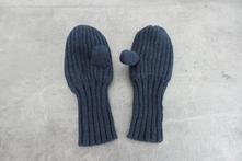 Pletené rukavice - plačáky, 80