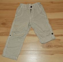 kalhoty letní chlapecké, roll-up, h&m,92