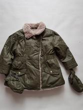 Zimní khaki bunda, bluezoo,86