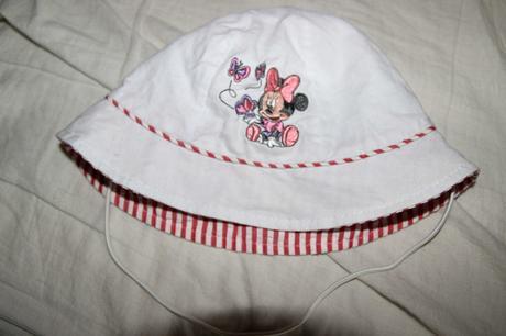 Dívčí letní klobouček, disney,80
