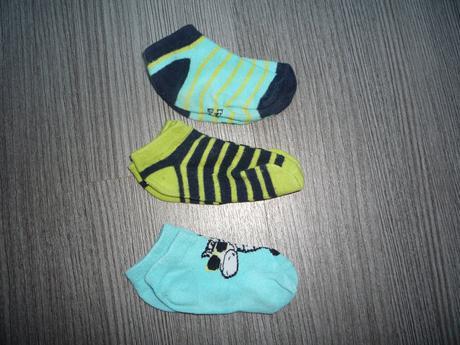 3x ponožky, lupilu,23