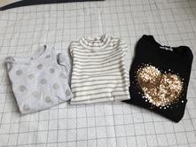 Dívčí tričká, h&m,92