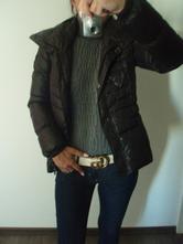 Černá zimní bunda guess, guess,s