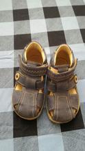 Modrošedé sandálky vel. 23, 23