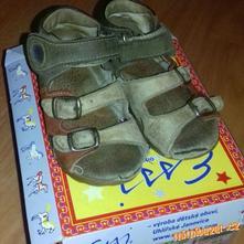 Daruji sandálky vel. 25 zn. essi., essi,25