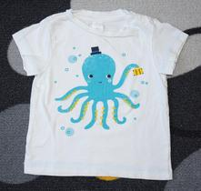 Tričko s chobotnicí, baby club,80