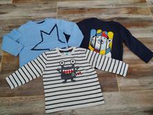 3x bavlněné tričko, nové, gap,80