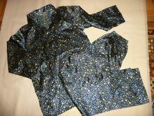 Saténové pyžamo hvězdičky vel 36/38, simone,36