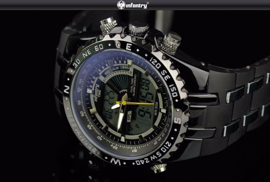 Pánské luxusní hodinky infantry army sport 1b020d95f0