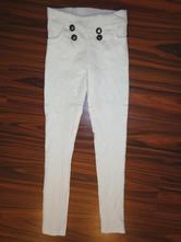 Exkluzivní elastické kalhoty s krajkou 152/158, 152
