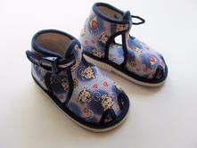 Chlapecké kotníkové papuče č.325, <17