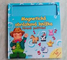 Magnetická obrázková knížka věk 3-6let,