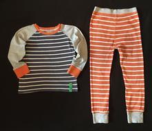 Vel. 98/104 pyžamo s proužkem, next,104