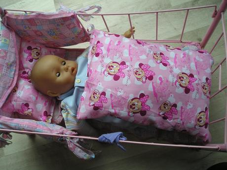 Peřinka+polštář pro panenku,