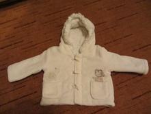 Bílý zimní kabátek., f&f,80