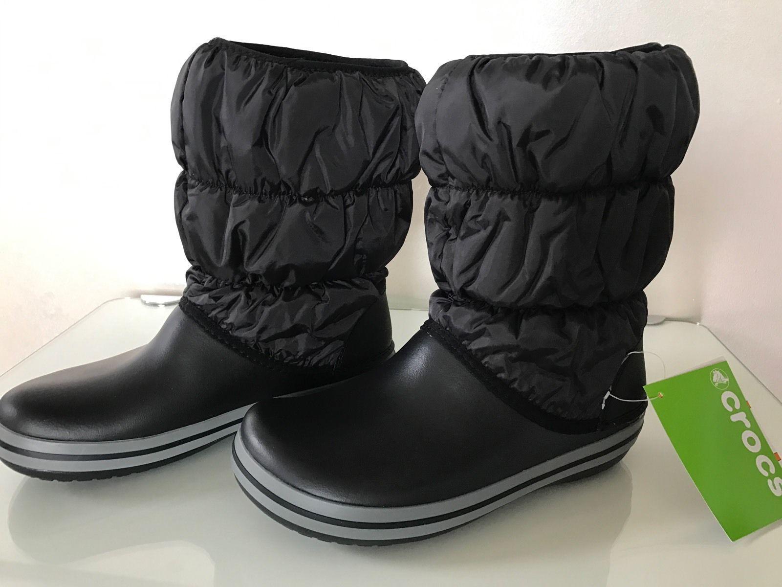 b6f838ac33b Dámské zimní boty crocs puff