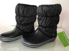 Dámské zimní boty crocs puff, černé, crocs,34 - 43
