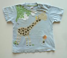 Obrázkové tričko s krátkým rukávem vel. 86, c&a,86