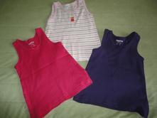 Spodní košilky/tílka lupilu, vel.2-4 roky, celkem, lupilu,98