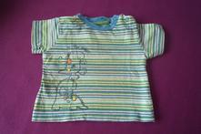 Pruhované tričko 62/68, tu,68
