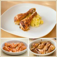 Dnes obyčejné, ale výborné jídlo - Grilované kuřecí paličky, šťouchané brambory