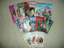 Harlequin červená knihovna kniha zamilované čtení,
