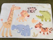 Dětský koberec soft safari,