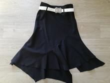 Společenská sukně s páskem, bonprix,36